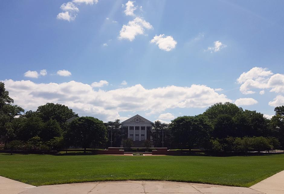 Main Administration Building on the University of Maryland campus