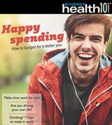 The cover of the November issue of Student Health 101
